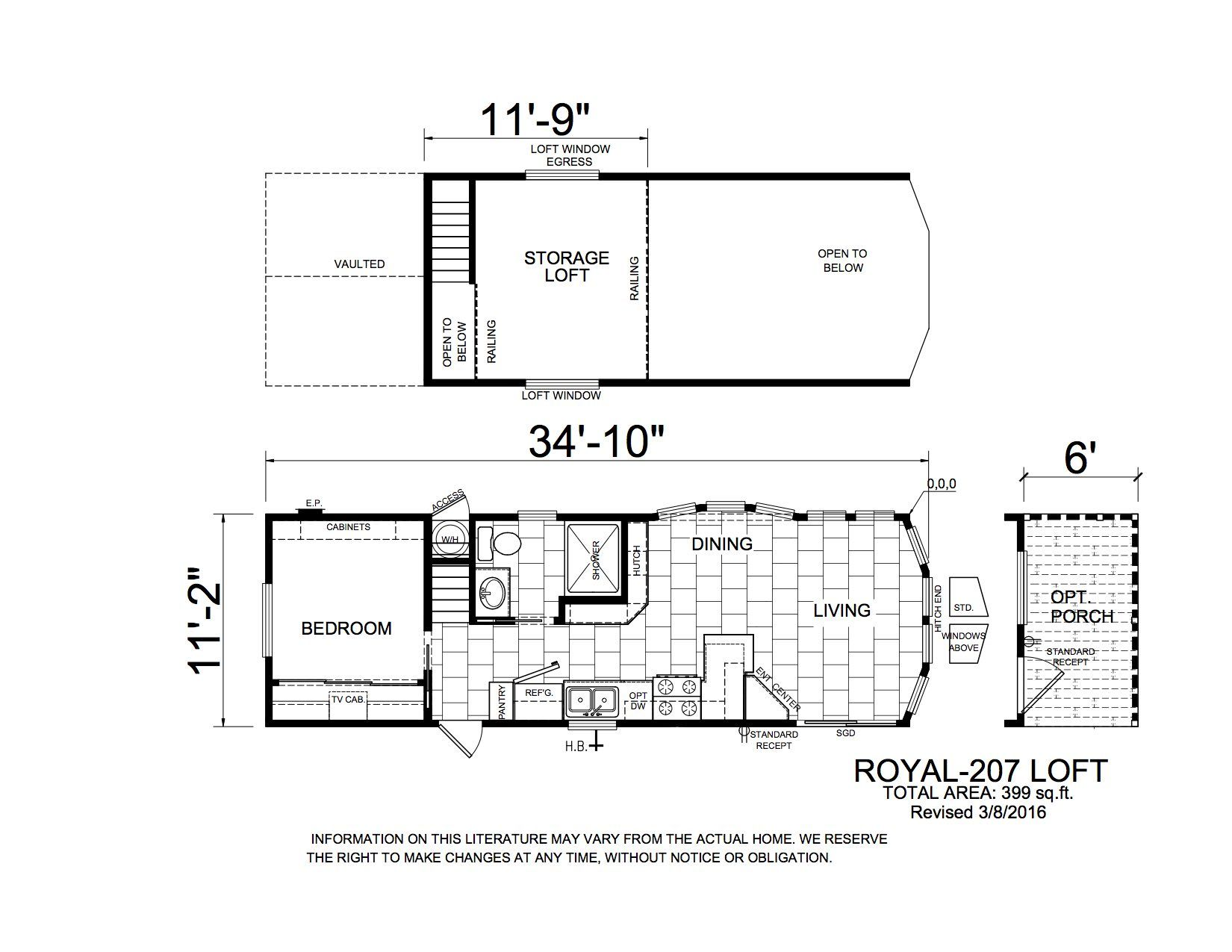Homes Direct Modular Homes - Model APH207 - Floorplan