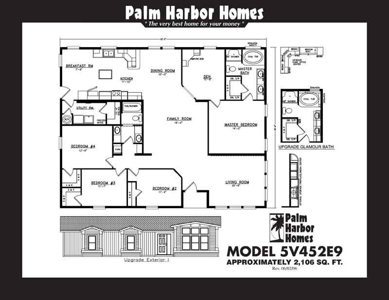 Homes Direct Modular Homes - Model N5V452E9 - Floorplan