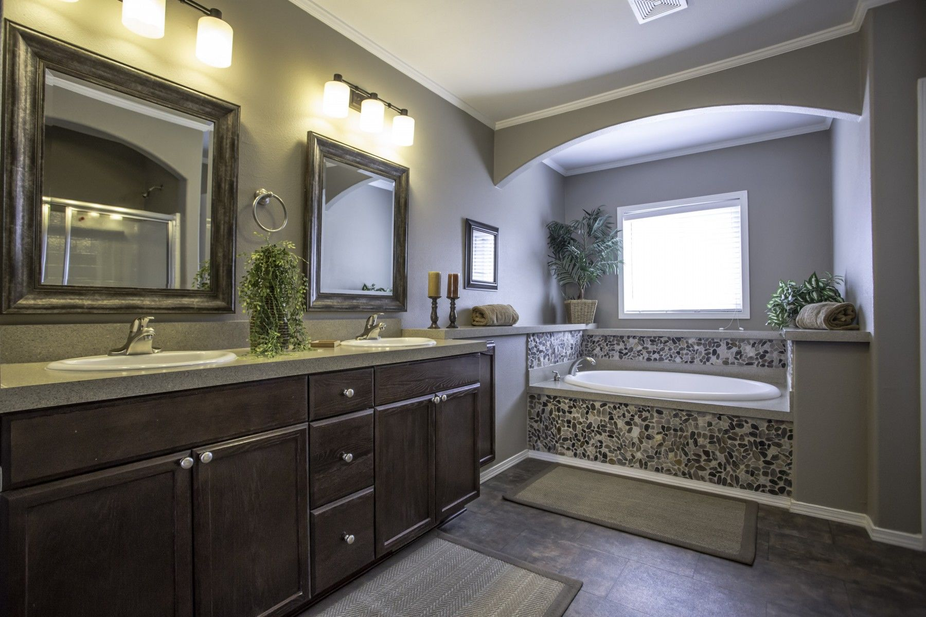 Customization option bathroom homes direct for Bathroom models images