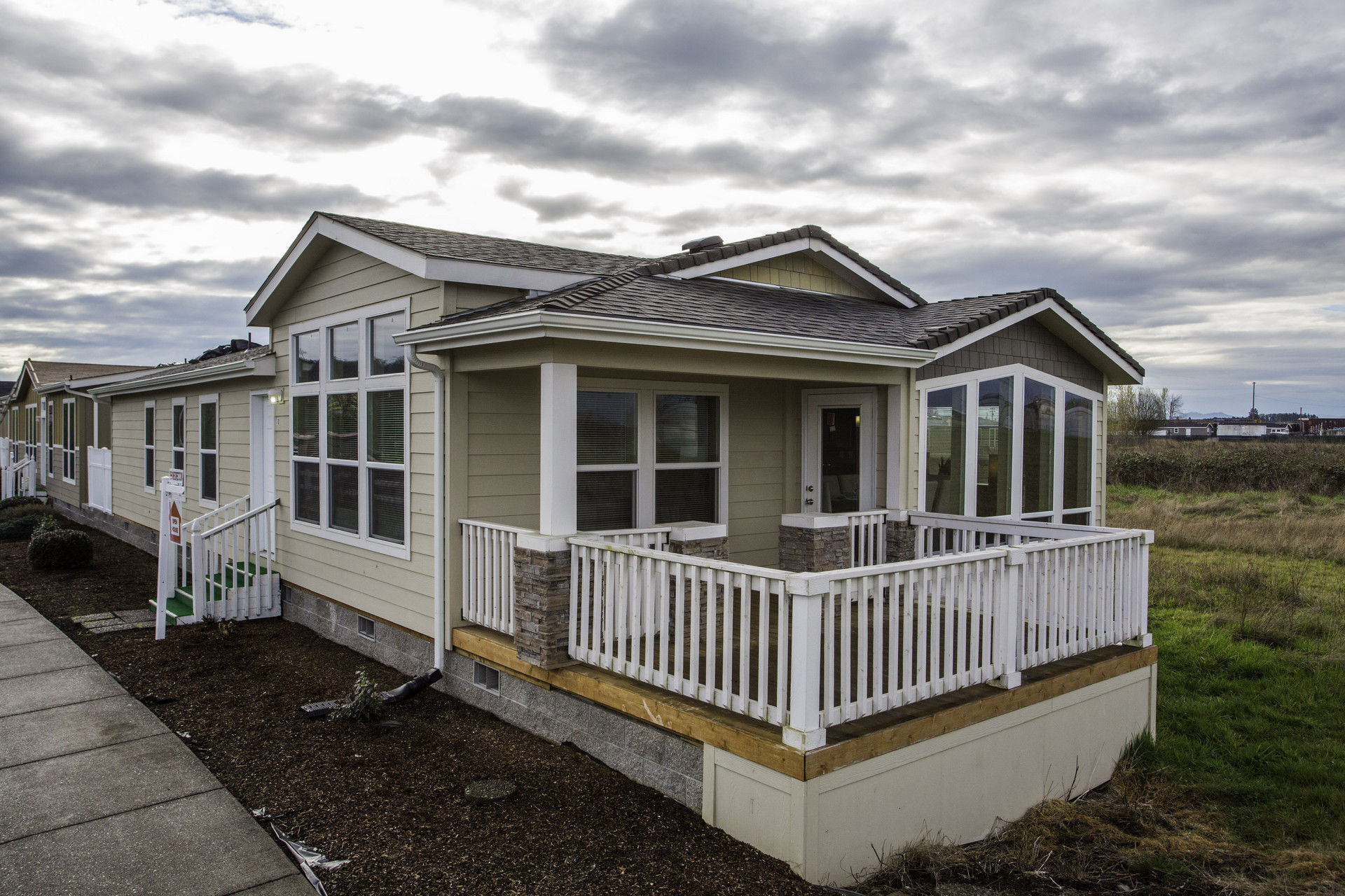 PR5A4593 Palm Harbor Manufactured Home Floor Plan on