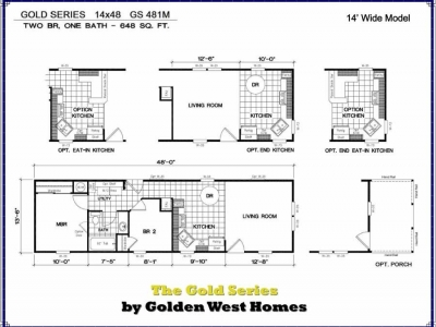 Homes Direct Modular Homes - Model Golden Series 481M