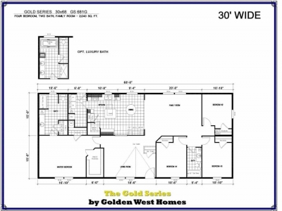 Homes Direct Modular Homes - Model Golden Series 681G