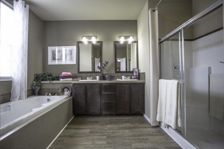 Homes Direct Modular Homes - Model Customization Option - Bathroom