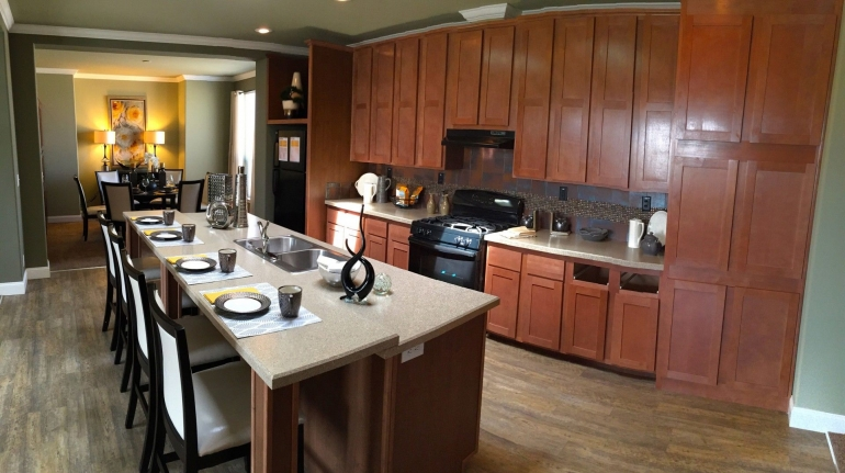 Homes Direct Modular Homes - Model Customization Option - Kitchen