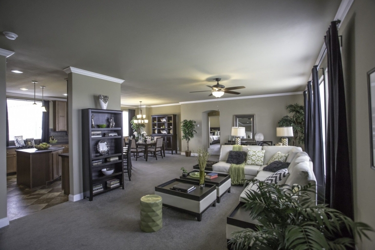Homes Direct Modular Homes - Model Customization Option - Living Room