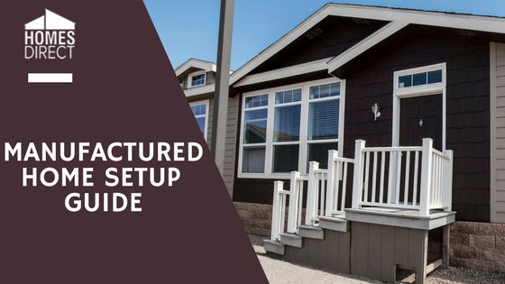 Manufactured Home Setup Guide